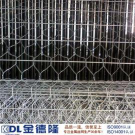 镀锌加筋格宾网/高尔凡加筋格宾/锌铝合金加筋石笼网