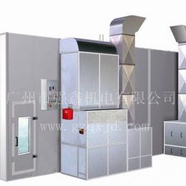 广州强鑫供应环保大巴烤漆房,专业烤漆房,保修一年,终身维护