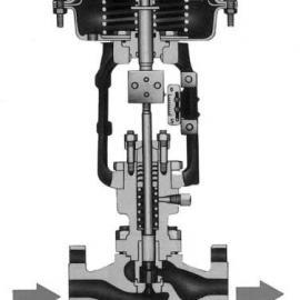 小口径笼式气动单座调节阀