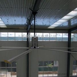 上海新旋厂房车间7300大型工业吊扇