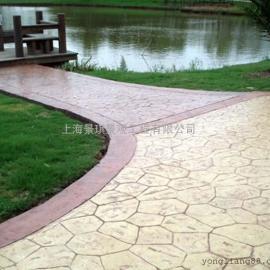 龙岩彩色压模地坪|新罗混凝土仿木纹地坪|长汀水泥压花地坪