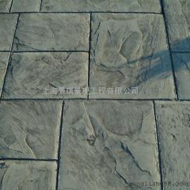 水泥压花地坪材料/压印彩色地面模具/压模混凝土材料