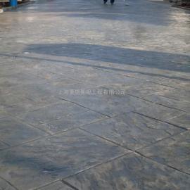 彩色路面压印地坪/水泥压花地坪/压模混凝土材料