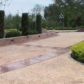 混凝土压花地坪材料/艺术压模地坪施工模具/透水地坪材料