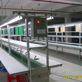 辽宁阜新鞍山皮带输送机小型爬坡输送线物流装配线