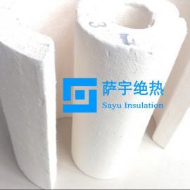 管道保温用无石棉硅酸钙板、硅酸钙管壳