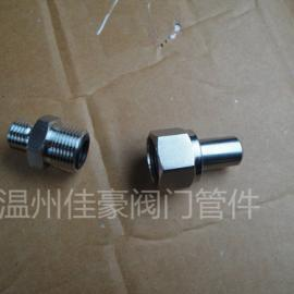 JB/T966不锈钢焊接管接头 焊接式直通终端管接头