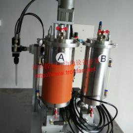 东莞AB双液自动配比混合灌胶一体喇叭点胶机,涂胶机