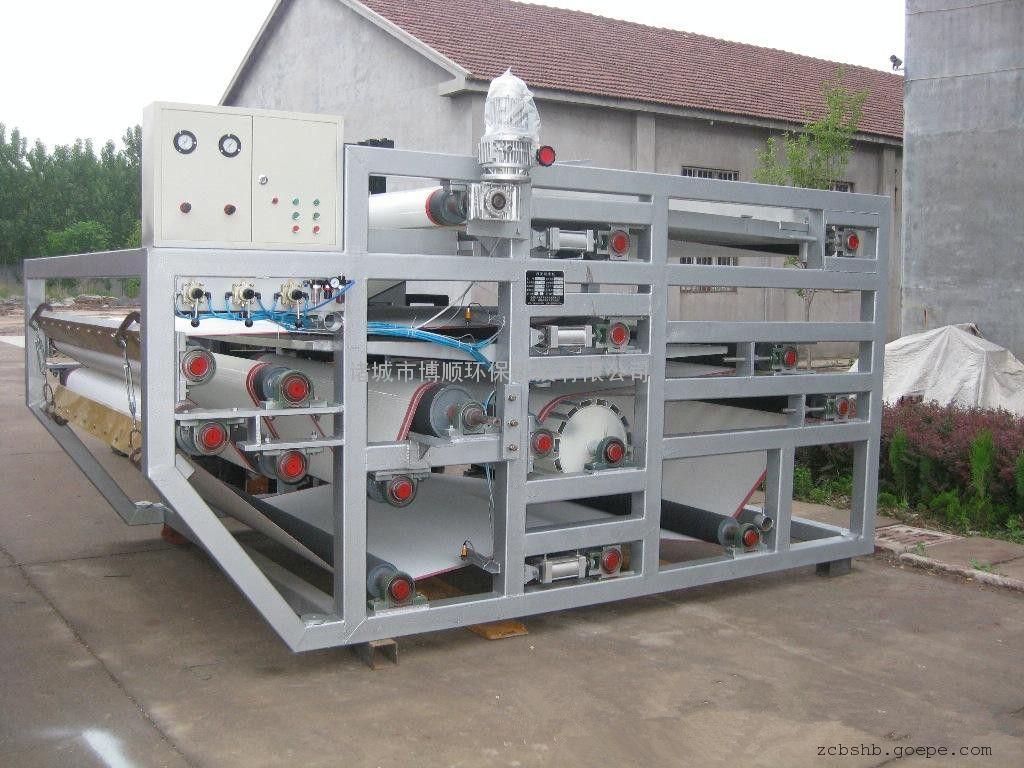 带式污泥浓缩脱水机 污泥浓缩脱水一体机 带式污泥压滤机