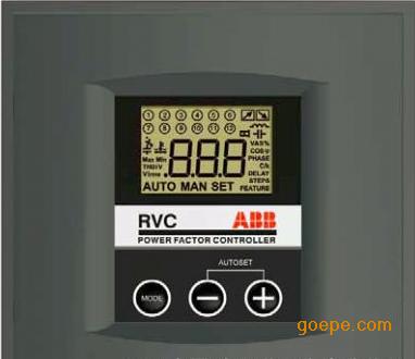功率因数控制器_abb功率因数控制器 rvc-10 (100v-440v)