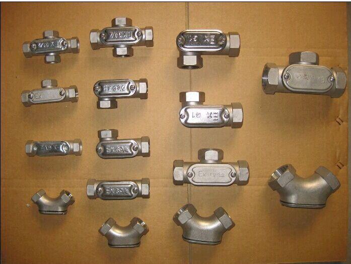 多种规格304不锈钢穿线盒