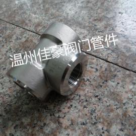 不锈钢液压三通,内螺纹三通,锻钢高压三通管接,三通接头