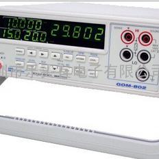 台湾固纬GOM-802微欧姆计 GOM-802直流低电阻测试仪