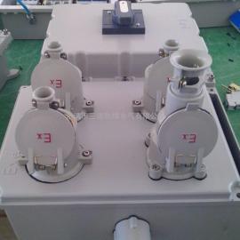 防爆插座箱 BXX52-4/40K100 带100A总开