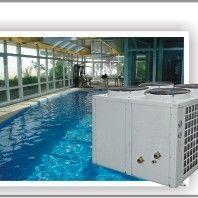 运城市恒温游泳池设备 游泳池恒温加热除湿三集一体热泵