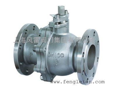 上海风雷碳钢法兰球阀Q41F,国标球阀,软密封球阀