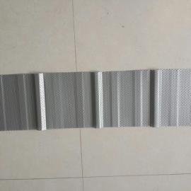 0.6镀铝锌穿孔压型底板感恩相伴体育馆