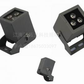 3*3W方形自开模户外防雨丝印LED投射灯