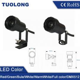3W新款科瑞芯片LED投射灯 5W古建筑瓦楞灯