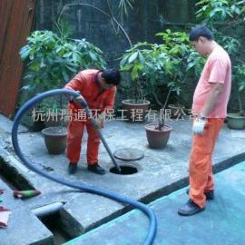 上城疏通下水市政管道化粪池抽粪高压清洗