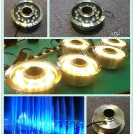 18W蓝光LED喷泉灯|全不锈钢材质LED喷泉灯