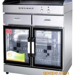 商用配餐柜 亿途YTP-218AT食具消毒柜 带抽屉包间消毒柜