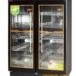 商用消毒柜 亿途YTP-800F双玻璃门消毒柜 中低温消毒柜