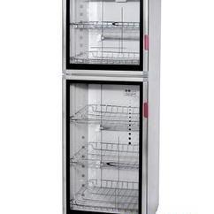商用消毒碗柜 亿途YTP-380B2上下门消毒柜 低温臭氧消毒柜