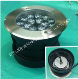 18W圆形大功率声控LED水池地埋灯LED水景灯