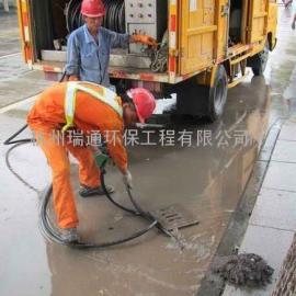 上海污水管高压清洗一上海泥浆管道清洗一清洗