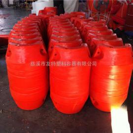 厂家直销塑料浮球,泰州直径50公分,高80公分管道浮球