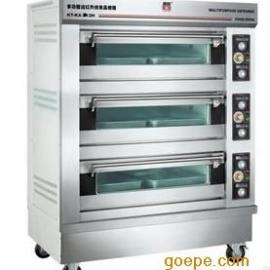 商用电烤箱 康庭KT-KX-3×2A电烤箱三层六盘 面包房电烤箱