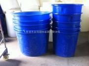 友特长期出售300L塑料圆桶,打浆桶,带刻度广口圆桶加工