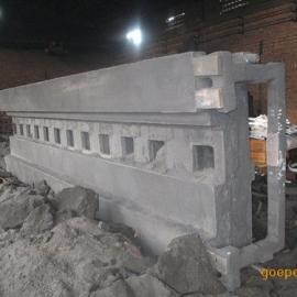 大型非标机床身铸件 非标消失模型机床铸件厂家