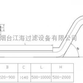链板排屑机型号 刮板排屑机 ――谷瀑推荐金属切屑输送设备