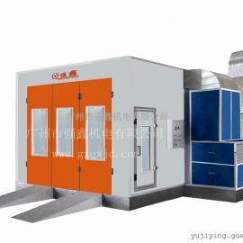 厂家供应环保型汽车喷烤房 红外线电加热烤漆房,免费保修一年