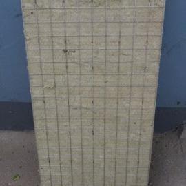 80mm厚钢网岩棉板 北京钢网憎水岩棉板