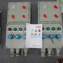 BXX52防爆检修电源插座箱带喇叭口