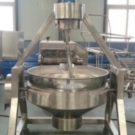 迪凯专业生产电磁加热行星搅拌炒锅   食堂专用行星搅拌锅
