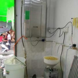 煮豆桨,豆腐蒸汽机现场安装实例图片