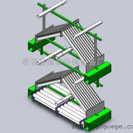 玻璃钢屋脊式除雾器