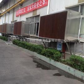 松山湖工厂降温水帘安装工程