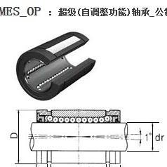 SAIMCK超级轴承LMES40OP,LMES50OP