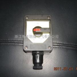 厂家直销BZM8050系列防爆防腐照明开关防爆开关