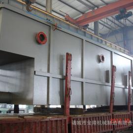平流式溶气气浮机-iso9001质量认证产品