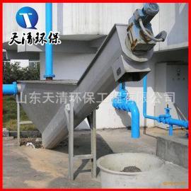 批量生产钟式除砂机砂水分离预处理设备山东天清环保质优价廉