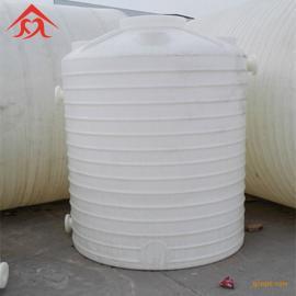 pe聚乙烯塑料水箱 化工储罐 5吨加厚塑料搅拌桶 厂家直销