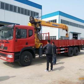 12吨东风国四后八轮随车吊价格