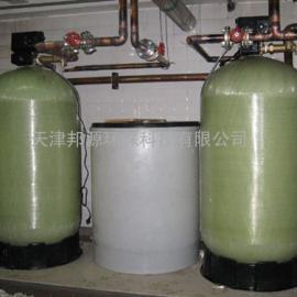 贵州5T/H双阀双罐钠离子交换器 一用一备全自动软水器价格