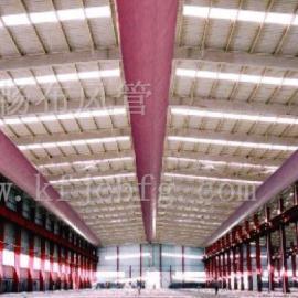 供应开封超市专用纤维织物布制布袋风管 冷风机布袋风管 通风布袋